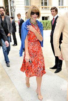 Anna Wintour Photo - Valentino Haute Couture show