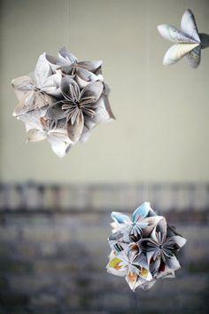 #DIY #paper flowers
