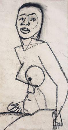 Life Study 12, 1951 Karl Tabery