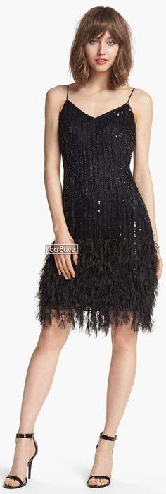 Pisarro Nights Embellished V-Neck Dress