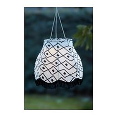 IKEA - SOLVINDEN, LED solar-powered pendant lamp,