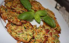 Křupavé zeleninové placičky - LC Salmon Burgers, Quiche, Zucchini, Paleo, Goodies, Low Carb, Vegetables, Breakfast, Ethnic Recipes