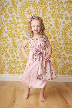 Kids Clothes On Pinterest Rosette Headband Knot Dress And Sewing Ideas