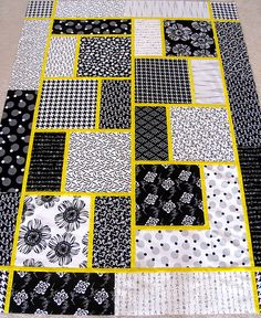 The Big Block Quilt need to make this, but not with yellow