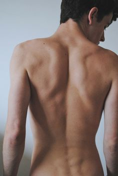 The sexiest part of male body? Ha! Back and Shoulder, definitely!