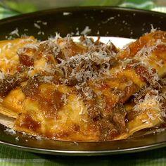 the chew | Recipe  | Mario Batali's Grandma's Ravioli