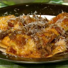 the chew | Recipe  | Mario Batali's Grandma's Ravioli