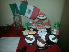 Mexican cupcakes and cookies
