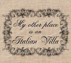 Italian Villa :)
