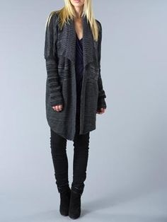 i want a cardigan like this!