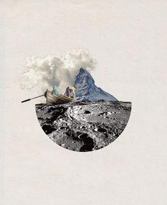Collage rétro par Sarah Wickings