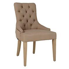 Neptune Henley Dining Chair, Mocha Linen