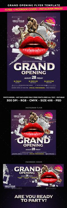 grand opening poster ideas - Google Search interest Pinterest - grand opening flyer