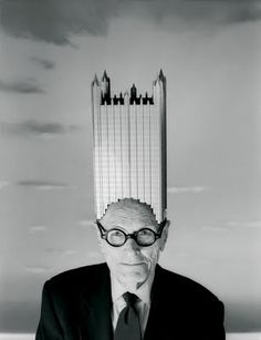Philip Johnson's 1984 Vogue cover.