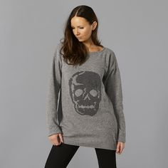 skull knit Skull, Graphic Sweatshirt, Pullover, Wool, Knitting, Sweatshirts, Sweaters, Fashion, Moda