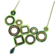Geometric Lace Necklace - Bead&Button Show
