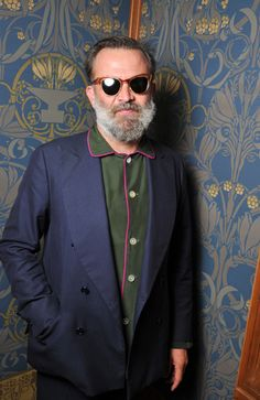 Robert Rabensteiner in his PJs at the Valentino party