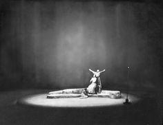 """"""" Parsifal """" 3.Aufzug 1.Bild 1951 Wieland Wagner Bühnenphoto"""