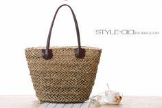 2016 New Fashion Casual Women Shoulder Bag Handbag Totes Weaven Straw Bag Ladies Hand Weaving Summer Beach Bag Travel Bag