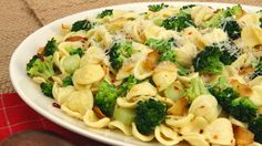 Orecchiette with Broccoli and Garlic - Recipes - Best Recipes Ever - Frying garlic until it is just slightly golden gives it a nutty, slightly spicy flavour that marries well with broccoli, especially when anchovies add deep, delicious base notes. Don't let the garlic go beyond golden or it will become bitter.