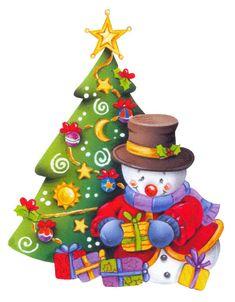 Frosty   árbol de navidad
