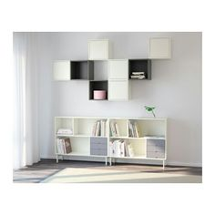 IKEA - VALJE, Shelving unit, , You can create your own unique solution by freely… Home Decor Bedroom, Home Living Room, Apartment Living, Living Room Designs, Living Room Decor, Ikea Valje, Ikea Nornas, Baby Shelves, Ikea Eket