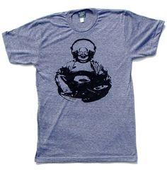 Graphic Tee, Yoga Tshirt, Cool Tshirt, Mens Shirt, Buddha Tshirt, Geekery, Funny…