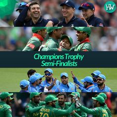 Say Hello to the Champions Trophy 2017 Semi-Finalists! #CT17 #ENGvPAK #BANvIND #cricket