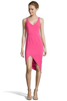 JUAREZ Asymmetrical Sheath Dress from Jay Godfrey. STRETCH CREPE   Hidden Back Zipper Asymmetrical Hem. $325