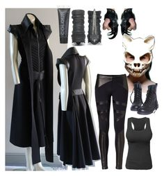 Untitled #459 by ironraven281 on Polyvore featuring polyvore fashion style David Lerner McFarlane clothing