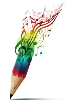 Musical pencil... Now try a colourful musical instrument case!