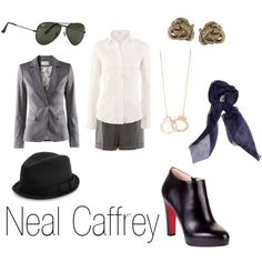 """Neal Caffrey"" --- omg next year for Halloween I am SO being a female Neal!!!"