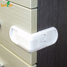5PCS Safety Child Infant Baby Drawer Door Cabinet Cupboard Toddler Locks MA