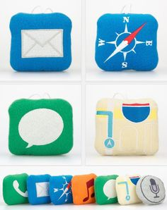 Stuffography iStuff mini Pillows. #Techoration Contest Entry