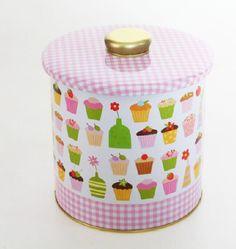 Lata Galletas Cupcakes