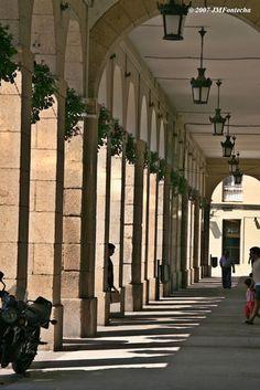 ღღ Soportales de la plaza de María Pita_A Coruña   Spain