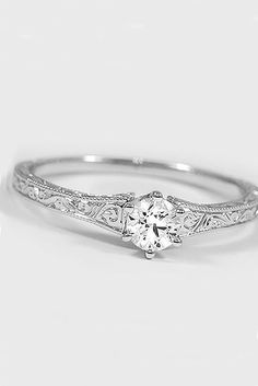 Simple Engagement Rings For Girls Who Loves Classics  See more:   #wedding #engagement #rings