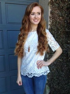 FRENCH CONNECTION NEBRASKA LACE TOP $138