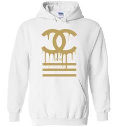 1fc0873c3de awesome Gucci Logo Gold Drip Hoodie Gucci Hoodie Mens