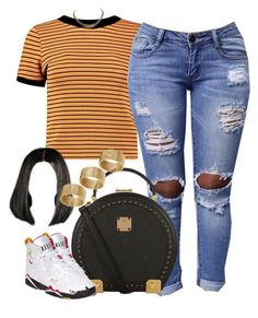 """Untitled #941"" by cjasmyne on Polyvore featuring Boohoo, MCM, Retrò, Givenchy and ASOS"