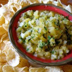 Pineapple Salsa by Srimathi