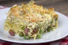 Tagliatelle-al-Forno_20150720_0170 Cookbook Recipes, Pasta Recipes, Cooking Recipes, Cooking Pasta, Greek Recipes, How To Cook Pasta, Us Foods, Lasagna, Potato Salad