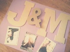 DIY cute poster for couples & boyfriend/girlfriend. Total cost: $13 @ Hobby…