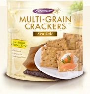 Best crackers in the world and they are good for you!! Great way to snack while keeping the calories off!!