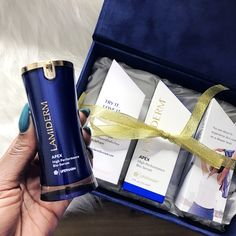 "The older I get the more my skin has become a priority for me. Lamiderm Apex is like my little ""time machine"" in a bottle! Keep reading for more info!"