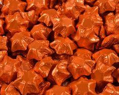 A bulk Foiled Chocolate Stars Orange box. Chocolate Lollies, Chocolate Stars, Wedding Chocolates, Bar, Orange, Food, Chocolate Lollipops, Essen, Yemek