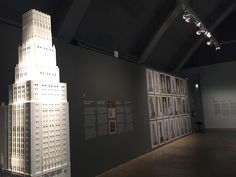 #Architecture and other modern topics in #Helsinki Art #Museum's exhibition | #HAM #HelsinkiArtMuseum #skyscraper
