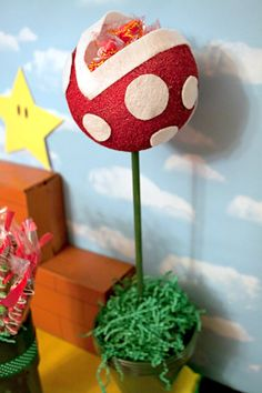 "Pin for Later: A ""Super"" Spectacular Mario Party Playful Piranha Plants"