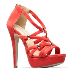 Strappy sandals...so perfect with a summer or evening dress.