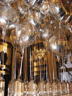 Mylar Balloons at Burberry | Centerpieces & Floor Topiaries | Balloon Decorating | Balloon Saloon